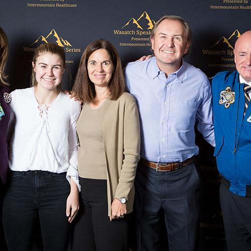 Gabby Giffords & Mark Kelly VIP Founders' Reception