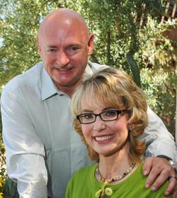Gabby Giffords & Mark Kelly