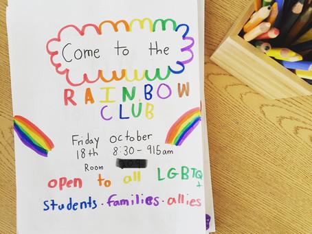 How to Start a Rainbow Club