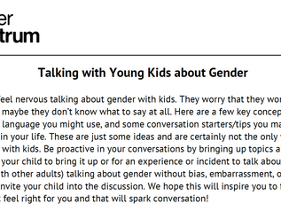 A Letter to Families about Gender Curriculum