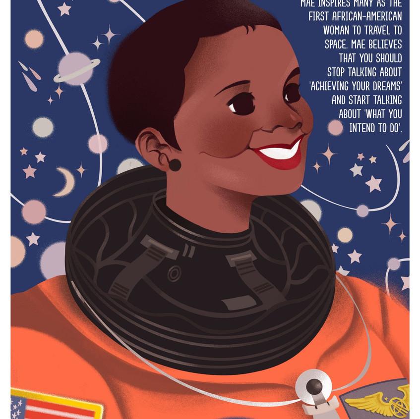 Download free posters of women in STEM careers at Medium.com.