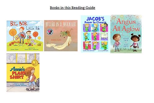2020 Reading Guide K-1st Grades