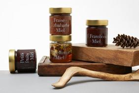 Miels d'Anicet蜂蜜品牌设计