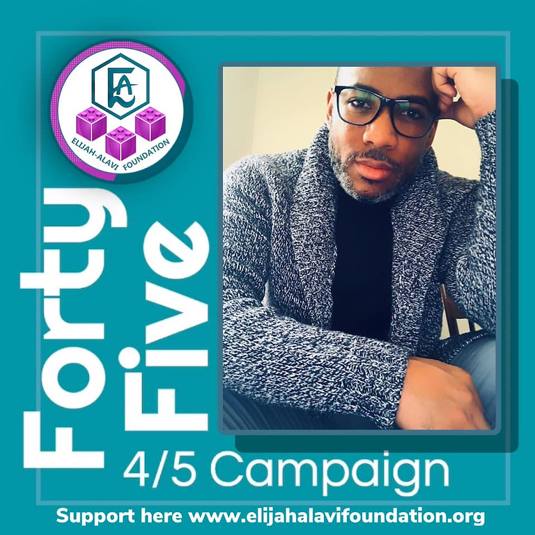 FORTY-FIVE 4/5 Giving Campaign