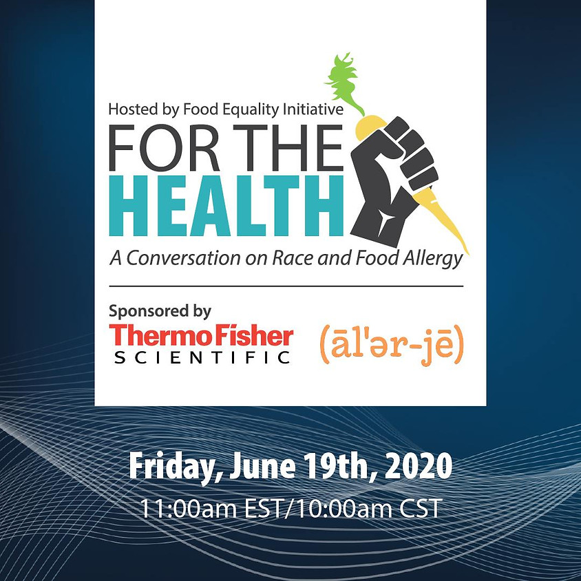 A Conversation on Race & Food Allergy