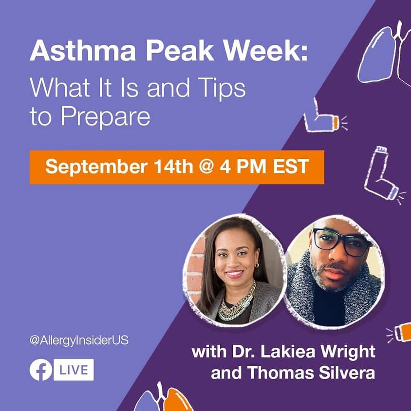 Asthma Peak Week: What is it and Tips to Prepare