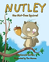 Nutley the nut free squirrel