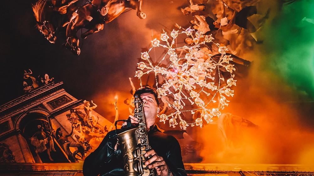 saxofonista ricardo branco, evento corporativo no petit palais, festa da galp energia