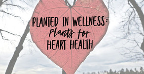 Planted in Wellness: Plants for Heart Health