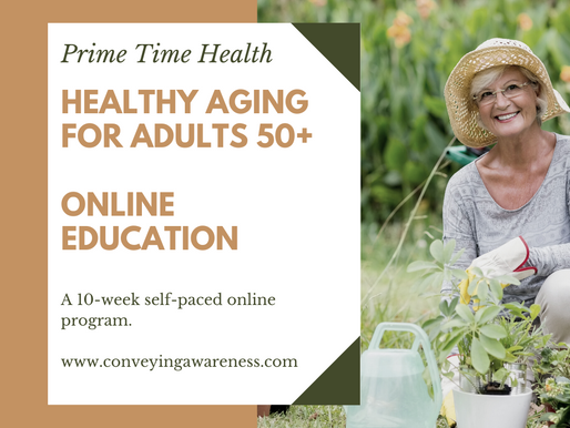 Healthy Aging Adults - an online educational program