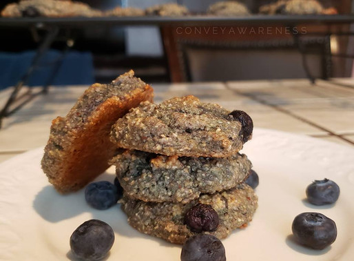 Mostly Plant-Based Protein Cookies