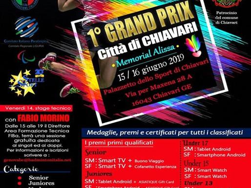 1° Grand Prix Città di Chiavari - Memorial Alissa