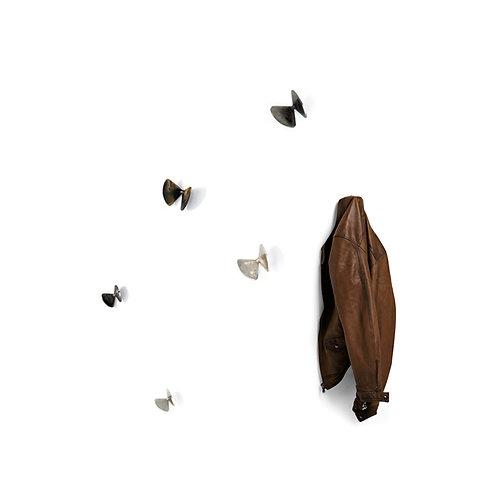 MOGG 6 appendiabiti Farfalle bice