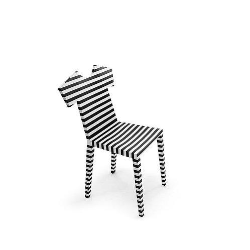 MOGG Sedia T-Chair rigata