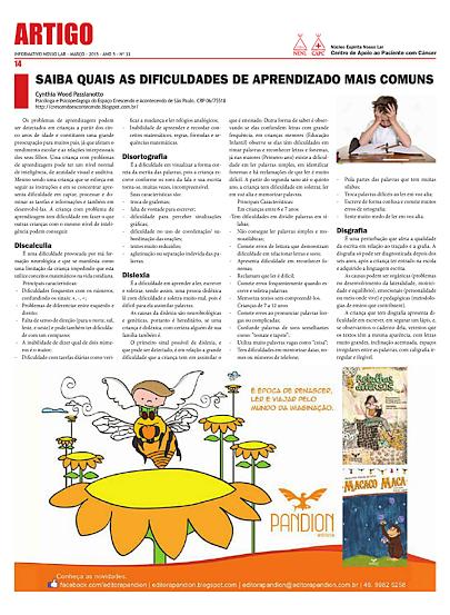 Informativo Nosso Lar - Mar/2015