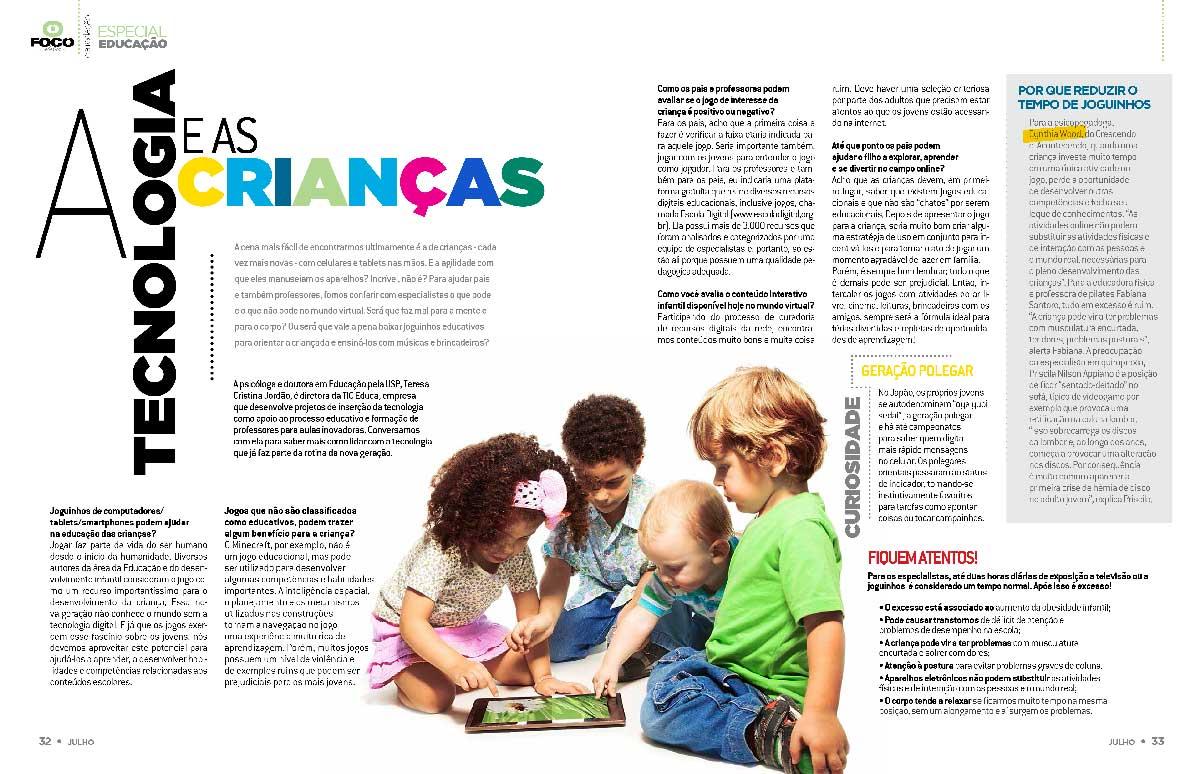 Revista Dolce Morumbi - Jul/2014