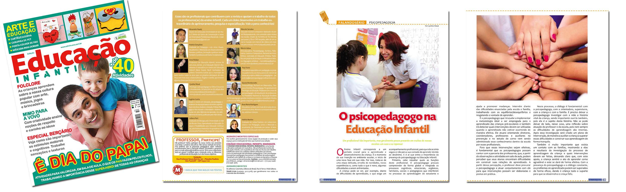 Revista Educação Infantil - Ago 2015
