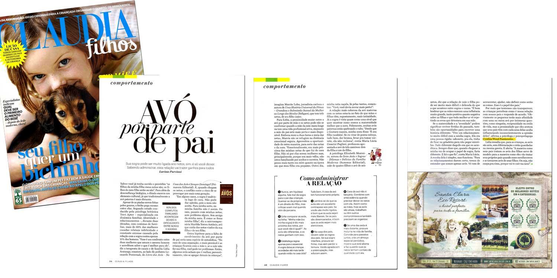 Revista Claudia Filhos - Abr/2015