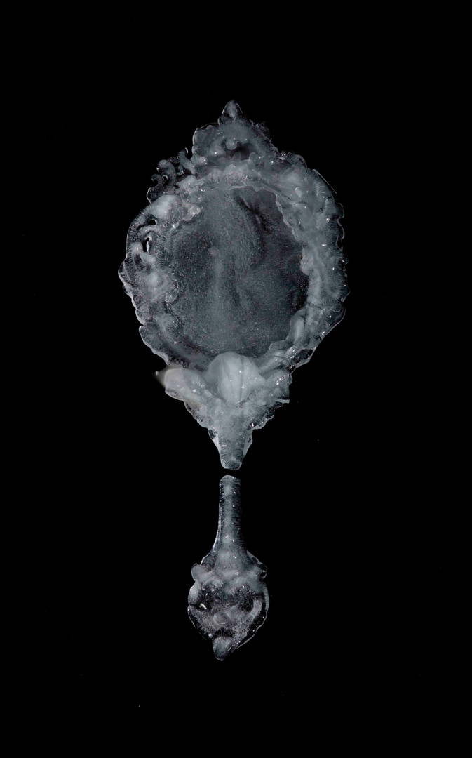 Ice Cherub Mirror, 2018 Archival digital print $1000 unframed ed. 1/6