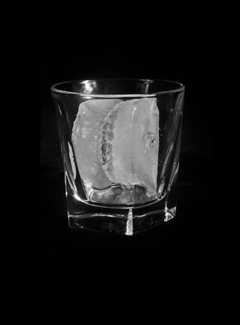 Ice Teeth in Glass, 2018 Archival digital print. $650 Framed ed. 1/10