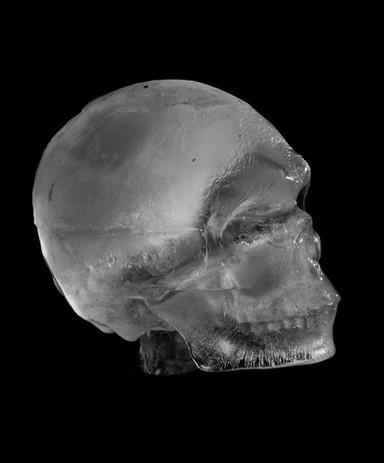 Ice Skull I, 2018 Archival digital print $2500 framed ed. 1/5