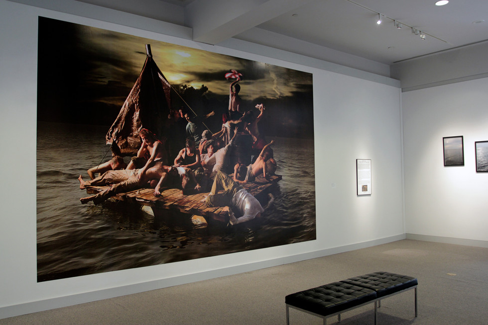 """'The Raft"""" install at New Orleans Museum of Art"""
