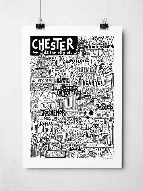 A4 Chester Print