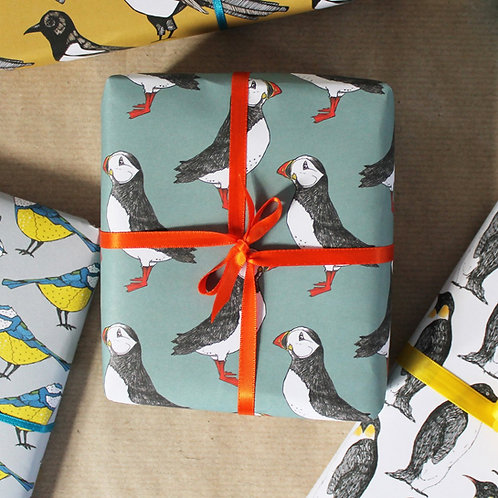 Puffin Gift Wrap