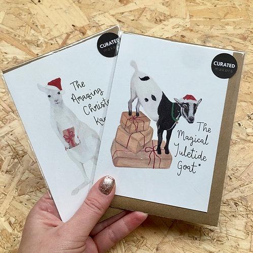 Animal Fact Christmas Card Pack