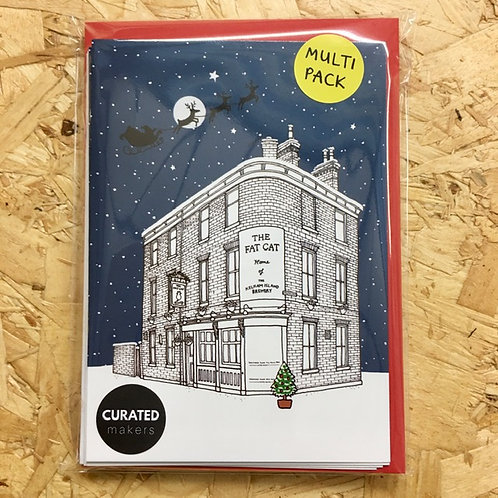 Sheffield Pubs Christmas Card Pack