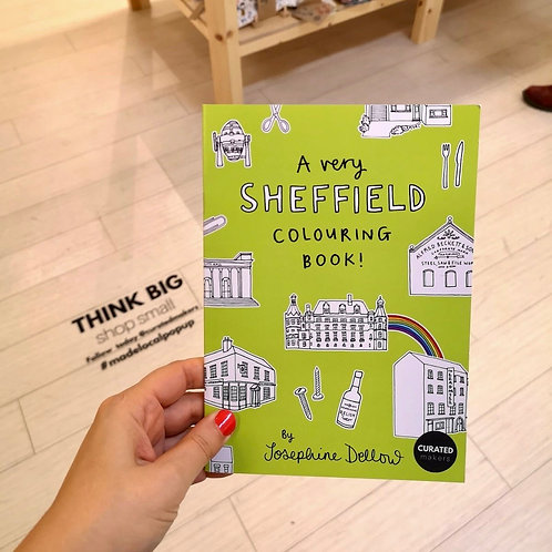 Sheffield Colouring Book