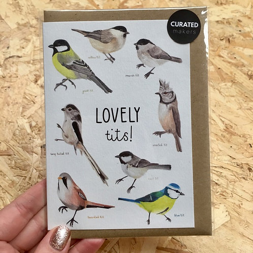 Lovely Tits Card