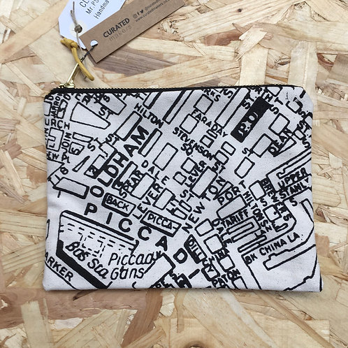 Manchester Map Pouch
