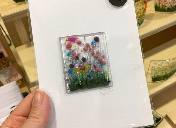 Glass Flower Card