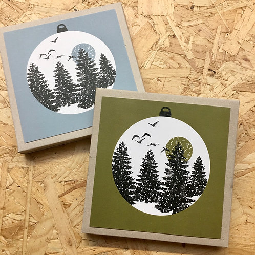 Winter Trees 8 Card Pack
