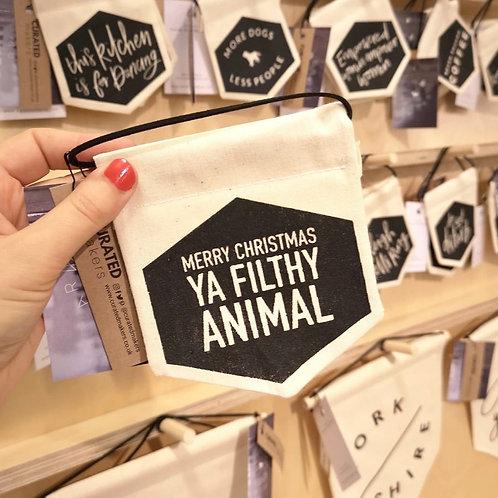 Filthy Animal Banner