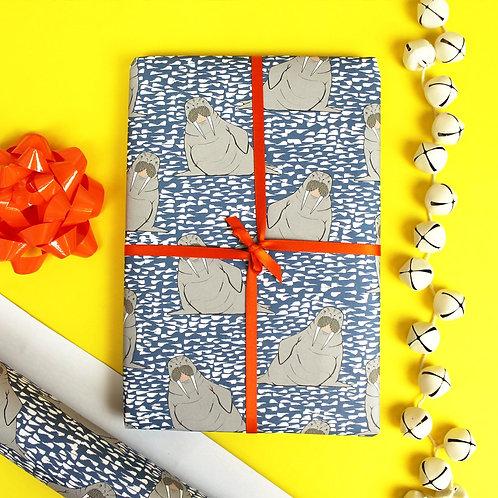 Walrus Gift Wrap
