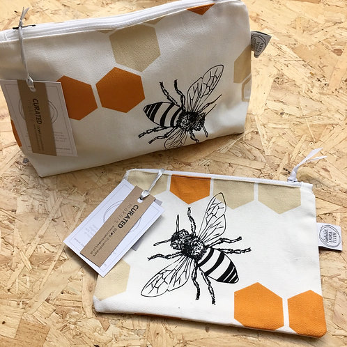 Bee Make-Up Bags
