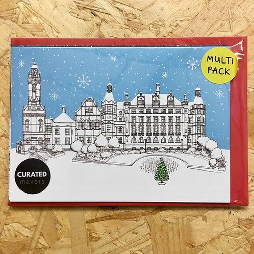 Sheffield Landmarks Christmas Card Pack