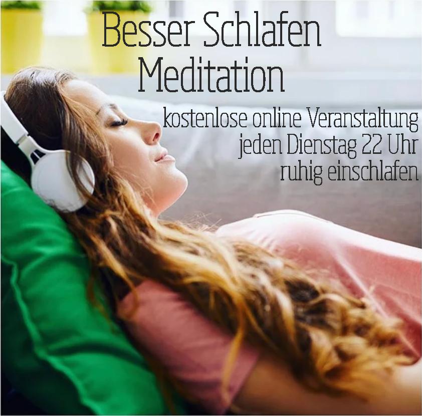 Besser Schlafen Meditation