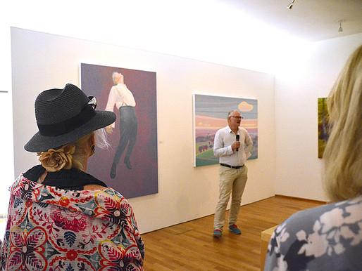 29.7.2018 – Daniel J. Schreiber eröffnet die Bernrieder Kunstausstellung im Buchheim Museum der Phan