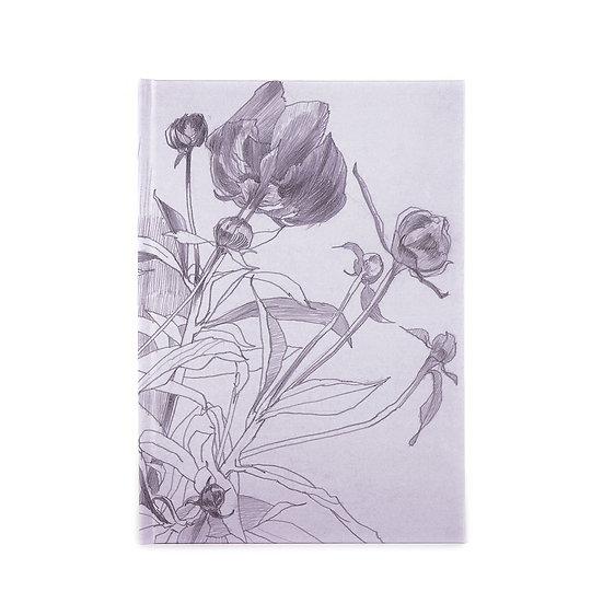 Notebook / sketchbook, A5, lilac