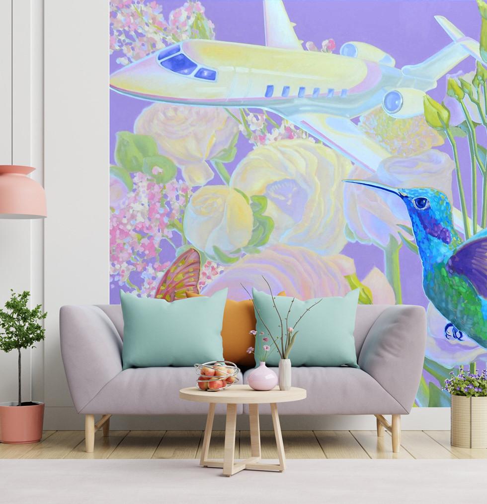 ART-ON-A-WALL für Dein Wohnzimmer