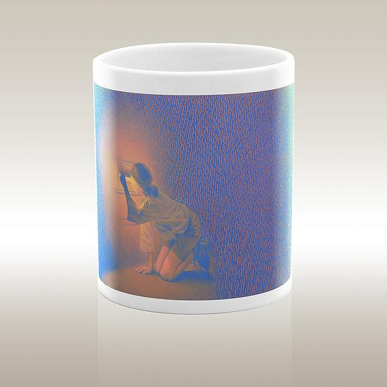 """Art-on-a-mug - Ceramic mug """"Other world"""""""