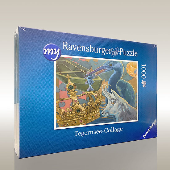 """Puzzle """"Tegernsee collage"""""""