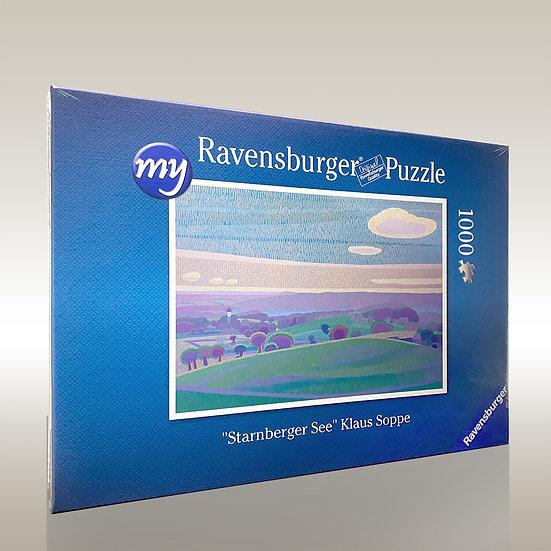"Puzzle ""Blick zum Starnberger See"""