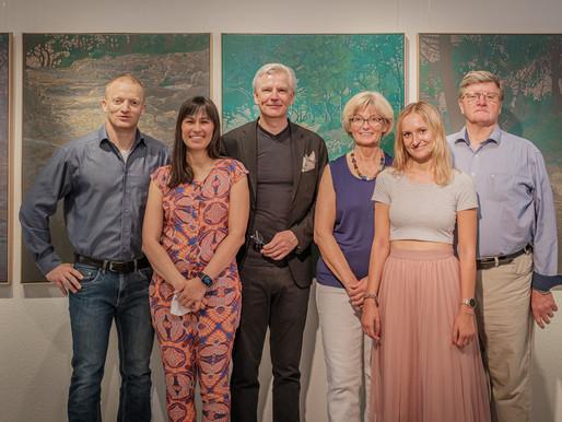 """Gemeischnschaftsausstellung """"Zwischen-Welten"""" – Sandra Kolondam und Klaus Soppe"""