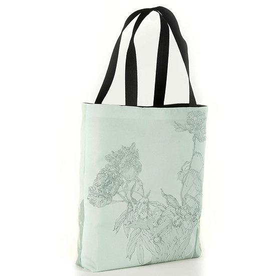 Hochwertige Shopper, Saftgrün, 40 x 40 cm