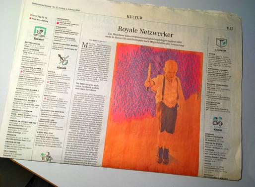 Süddeutsche Zeitung vom 2. Februar 2018