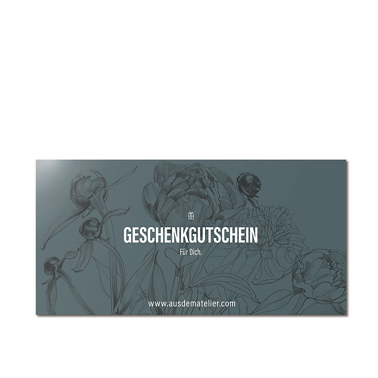 Give away a gift voucher, from 10 EUR